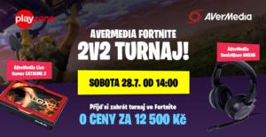 Fortnite turnaj - AverMedia